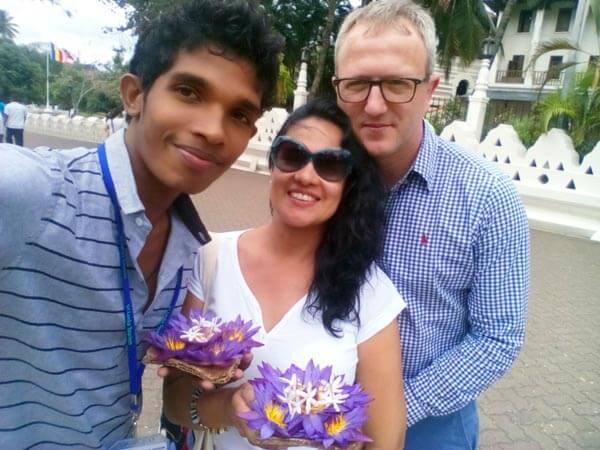 Flitterwochenurlaub Sri Lanka