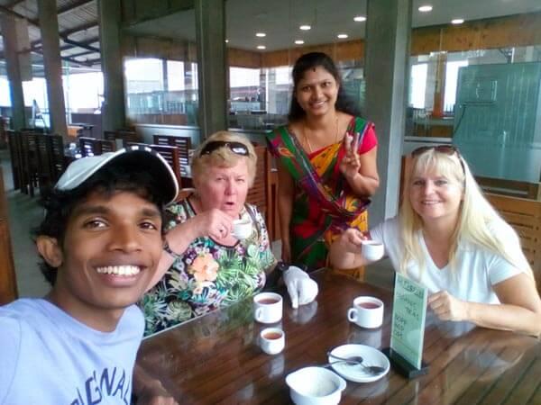 German Speaking Car with Driver in Sri Lanka