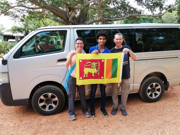 Deutschsprachigem Guide Sri Lanka
