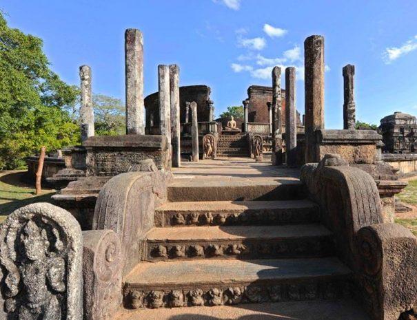 Polonnaruwa antike Stadt