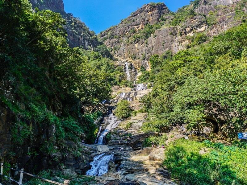 Ravana Wasserfall