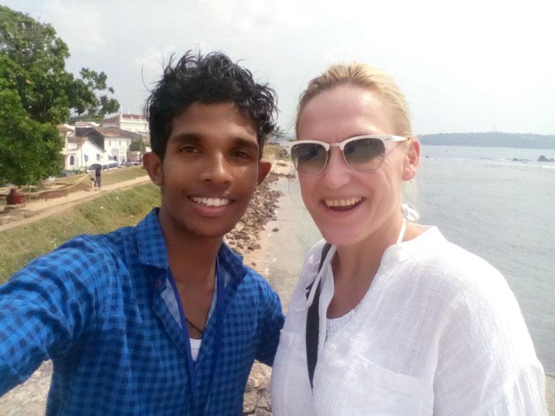 Sri Lanka deutschsprachiger Fahrer Guide für Alleinreisende