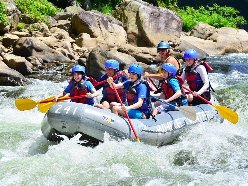 Wasser-Rafting Kitulgala